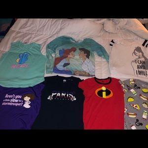 Disney Shirt Lot
